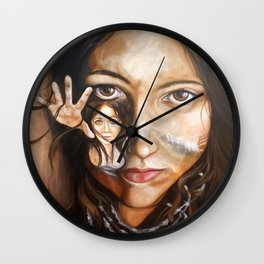Finished with this dream Wall Clock