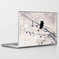 crow Laptop & iPad Skins featuring Crow by Maite Pons