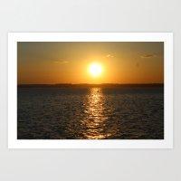 Hot Sun, Cool Air Art Print