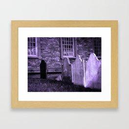 St. Paul's Churchyard, New York City Framed Art Print