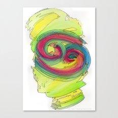Cancer Flow Canvas Print