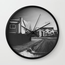 You Think Too Much Wall Clock