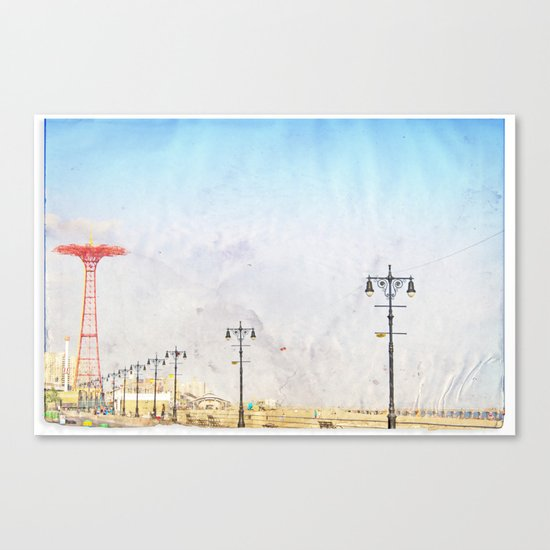 Brooklyn's Eiffel Tower Canvas Print