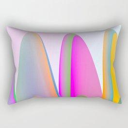 Rounded peaks 2 Rectangular Pillow