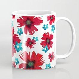 Carnations & Columbines Coffee Mug