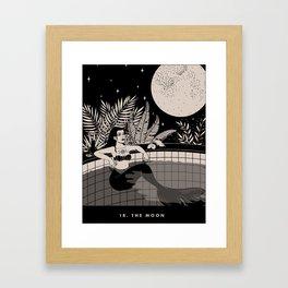 18. THE MOON Framed Art Print