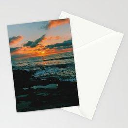 OB sunset Stationery Cards