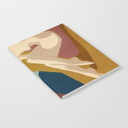 Abstract Female Figure 3 Notebook