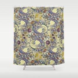 DA FS Smooth Pearl Fractal ONFXHBW2 S6 Shower Curtain