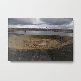 Iceland - Myvatn Metal Print