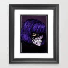 Little Bitch Framed Art Print