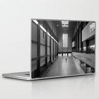kris tate Laptop & iPad Skins featuring Tate Modern by Evan Morris Cohen
