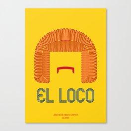 EL LOCO Canvas Print
