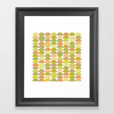 Geometric Juice Framed Art Print