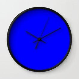 0000ff Wall Clock