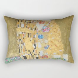 Famous kiss3 Rectangular Pillow