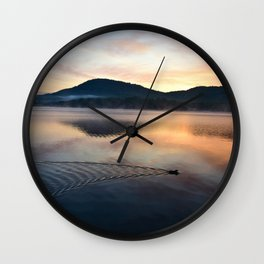 Night's End: Making Ripples Wall Clock