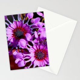 Purple Whirligig - Phoenix Stationery Cards