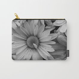 Sepia Toned Flowers Carry-All Pouch