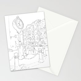 Below Canal Street, Manhattan Stationery Cards