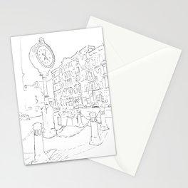 Below Canal Street, Manhattan Stationery Cards