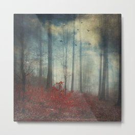 open woodland dreams Metal Print