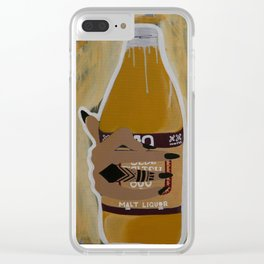 40 Shorty Clear iPhone Case