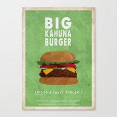 Pulp Fiction - big kahuna burger Canvas Print