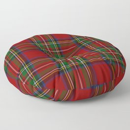 Royal Stewart Tartan Clan Floor Pillow