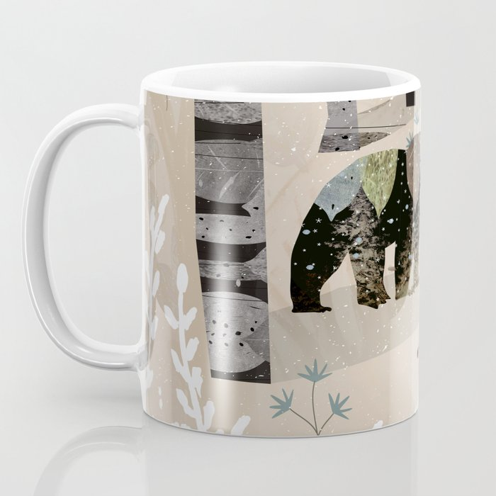 Forest in Sweater Coffee Mug