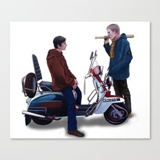 Jimmy Casual Canvas Print