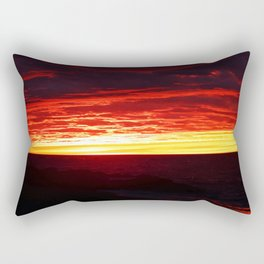 Here Comes the Night Rectangular Pillow