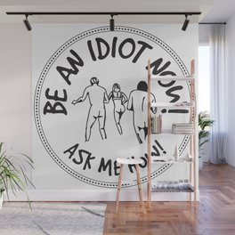 Idioterne Wall Mural