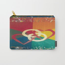 His and His Wedding invitations Carry-All Pouch