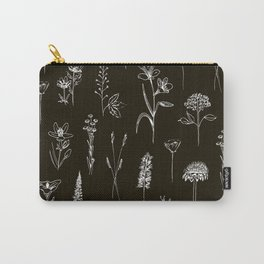 Patagonian wildflowers Carry-All Pouch