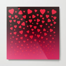 Showering You With All My Love Metal Print