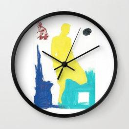1980s Series No. 9 Wall Clock