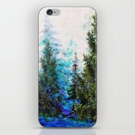 BLUE MOUNTAIN PINE FOREST  VISTA iPhone Skin