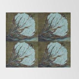 Four Square Cotton Throw Blanket