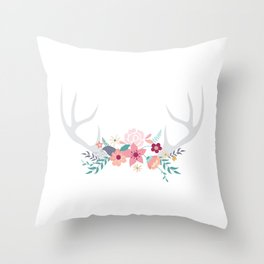 Bois de cerf Throw Pillow