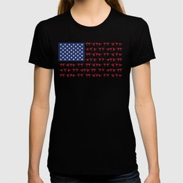 American Karate T Shirt Gift for Japanese Martial Arts Fans, Karate Fighters and Combat Sports Fans T-shirt