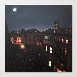 Full Moon, Chelsea Canvas Print