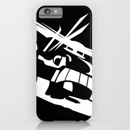 H-53/CH-53 Military Helicopter iPhone Case
