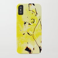 nudes iPhone & iPod Cases featuring Nudes Art 2011 by Falko Follert Art-FF77
