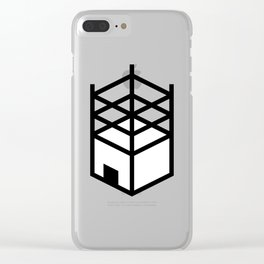 Building in Construction Clear iPhone Case
