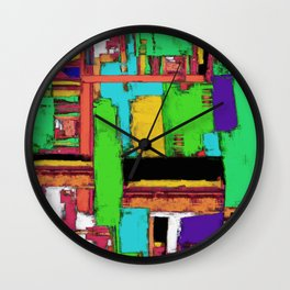 The big room 2 Wall Clock