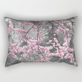Under The Redbud Tree Rectangular Pillow