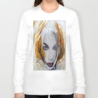 blondie Long Sleeve T-shirts featuring Blondie by Capracotta Art