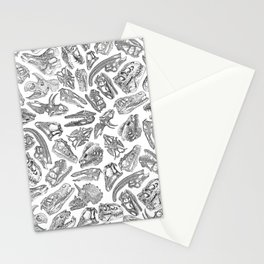 Paleontology Dream Stationery Cards