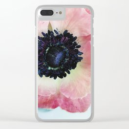 Anemone in Winter Clear iPhone Case